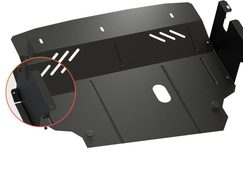 Защита двигателя ZiPoFlex, ACURA MDX